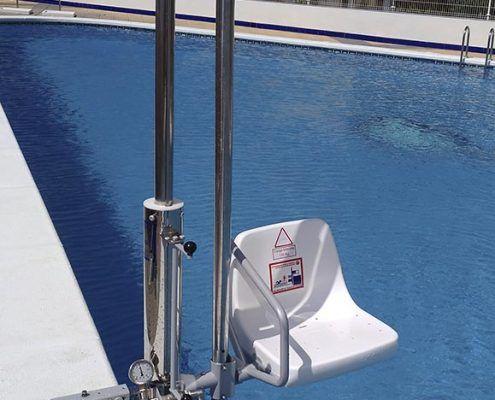 elevadora piscina Murcia