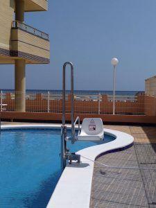 silla piscina
